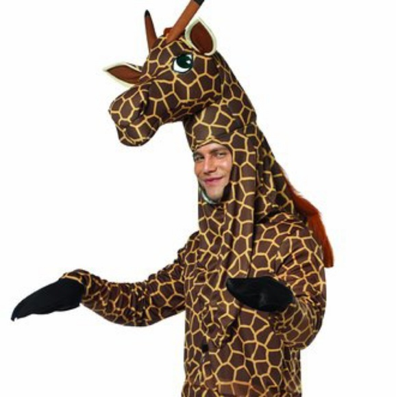 b397cb477f Other | Adult Mens Giraffe Costume Halloween Zoo Safari | Poshmark